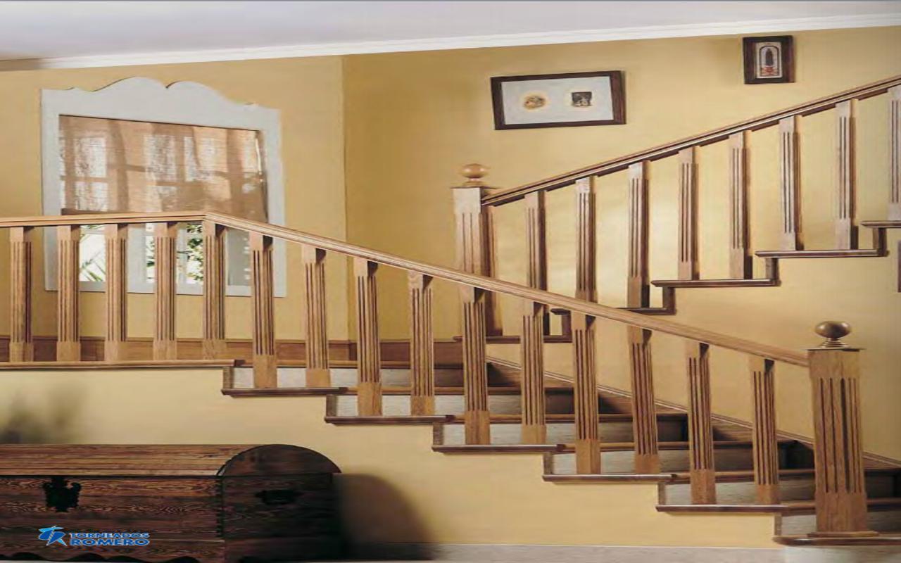 Barandilla madera exterior diseo de barandilla de la for Barandilla escalera exterior