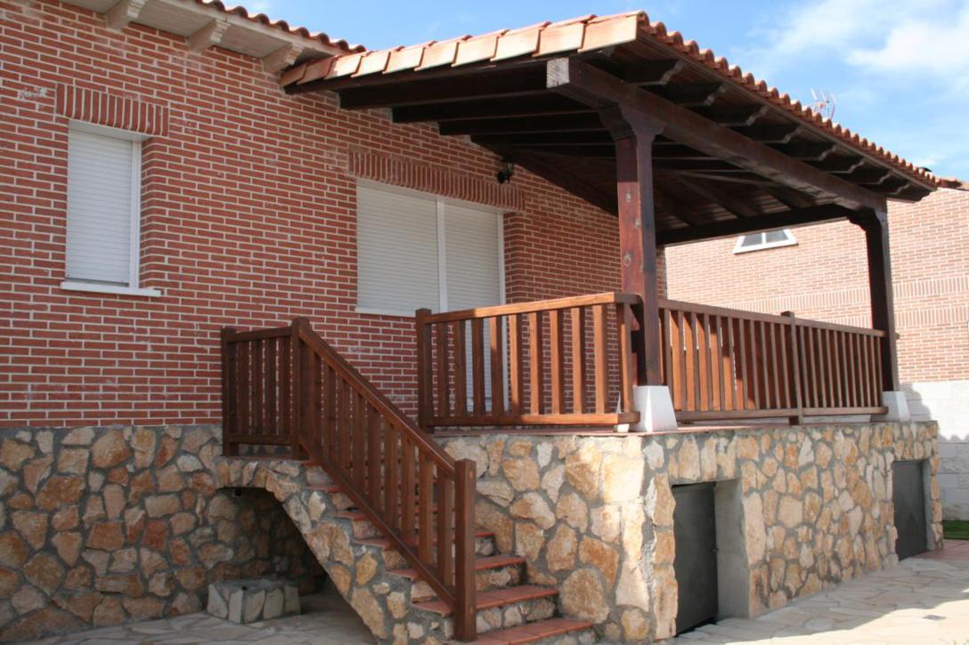 with porches rusticos de madera - Porches Rusticos