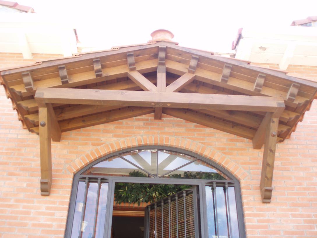 Puertas de madera armarios a medida y tarima flotante en guadalajara - Puertas para porches ...
